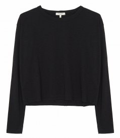 JUST IN - THE SLUB CROPPED LONG SLEEVE
