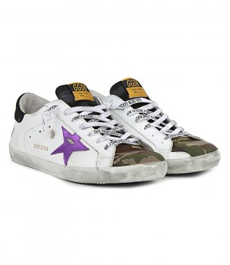 CAMOUFLAGE TOE SUPERSTAR SNEAKERS