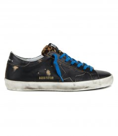 SHOES - LEOPARD HORSY TONGUE SUPERSTAR SNEAKERS