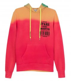 CLOTHES - REGULAR HOODIE RAINBOW THE STAR