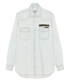 CLOTHES - AXEL BLEACHED SHIRT