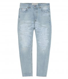 CLOTHES - HAPPY LIGHT WASH JEANS