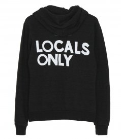 CLOTHES - LOCALS ONLY ZIP HOODIE