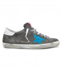 GOLDEN GOOSE  - COCO PRINT STAR SUPERSTAR SNEAKERS