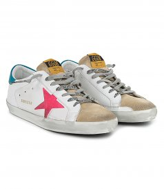 SUPER STAR SUEDE TOE AND STAR