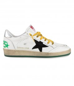 GOLDEN GOOSE  - SUEDE STAR BALLSTAR SNEAKERS