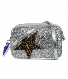 GOLDEN GOOSE  - STAR BAG GLITTER