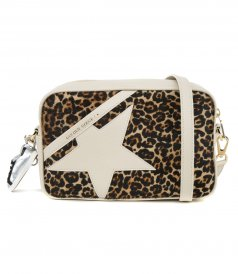 GOLDEN GOOSE  - STAR BAG PONY LEO