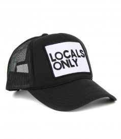 ACCESSORIES - LOCALS ONLY TRUCKER HAT