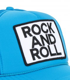 ROCK N ROLL TRUCKER HAT