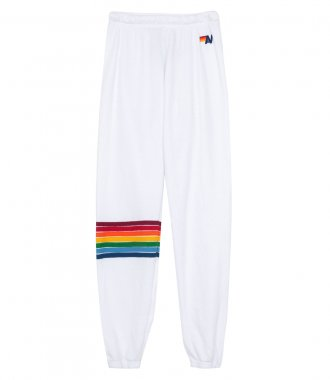 AVIATOR NATION - WOMEN'S RAINBOW STITCH SWEATPANT