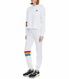 WOMEN'S RAINBOW STITCH SWEATPANT