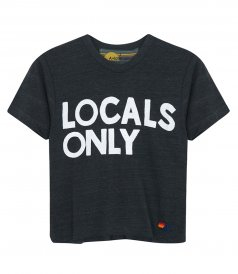 CLOTHES - WOMEN'S LOCALS ONLY BOYFRIEND TEE SHIRT
