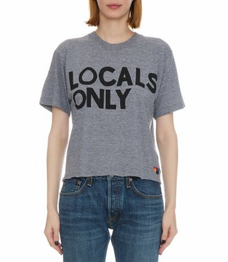 WOMEN'S LOCALS ONLY BOYFRIEND TEE SHIRT