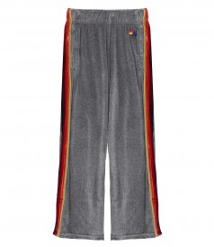WOMEN'S WIDE LEG CLASSIC VELOUR SWEATPANTS