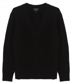 CLOTHES - PIERCE CASHMERE V NECK