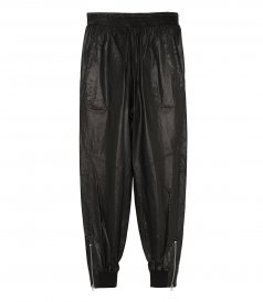 CLOTHES - LEATHER JOGGER PANT