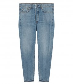 JEANS - LIGHT BLUE WASH HAPPY PANT