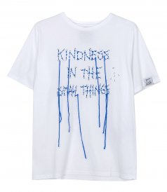 GOLDEN GOOSE  - AIRA KINDNESS IN SMALL THINGS T-SHIRT
