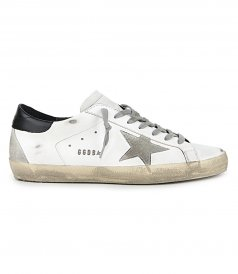 GOLDEN GOOSE  - SHINY STAR SUPERSTAR SNEAKERS
