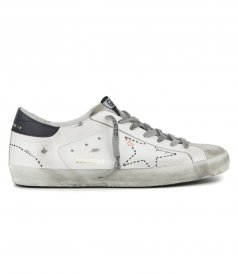 DOTTED STAR SUPERSTAR SNEAKERS