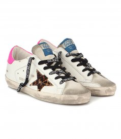 LEOPARD HORSY STAR SUPERSTAR SNEAKERS