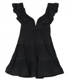 THE LOVESTRUCK PLEATED MINI DRESS