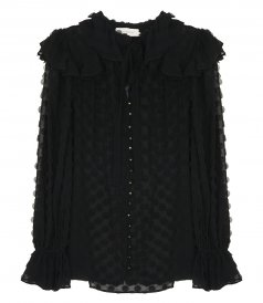 CLOTHES - TEXTURED BLOUSE