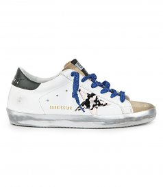 PYTHON PRINT STAR SUPERSTAR SNEAKERS