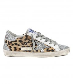SHOES - LEOPARD HORSY SUPERSTAR SNEAKERS