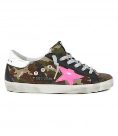 CAMOUFLAGE RIPSTOP SUPERSTAR SNEAKERS