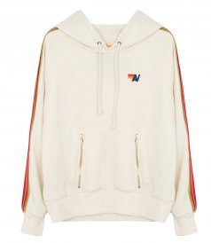 CLOTHES - VELVET STRIPES CLASSIC PULLOVER HOODIE