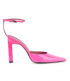 NEON PINK PATENT