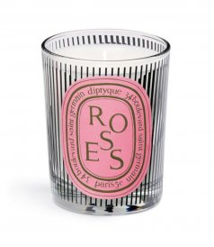 BEAUTY - SCENTED CANDLE ROSES DANCING OVALS 190g