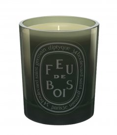 BEAUTY - SCENTED CANDLE GREY FEU DE BOIS 300g