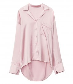 CLOTHES - OVERSIZED PAJAMA SHIRT