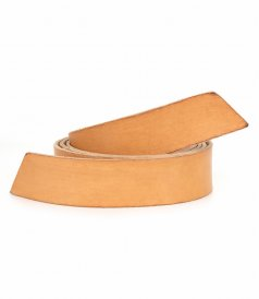 JUST IN - WASHED LEATHER STRING BELT