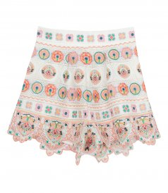 JUST IN - BRIGHTON EMBROIDERY SHORT
