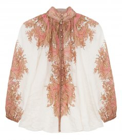 JUST IN - BRIGHTON PAISLEY BLOUSE