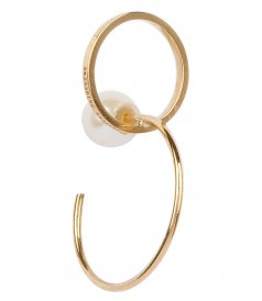 ACCESSORIES - TWINS HOOP RIGHT MONO EARRING