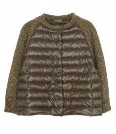 CAPE IN NYLON ULTRALIGHT AND NEW LUREX KNIT