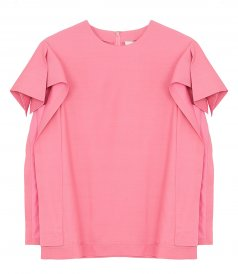 3.1 PHILLIP LIM - ORIGAMI FOLD SLEEVE TOP