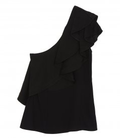 3.1 PHILLIP LIM - RUFFLED ONE SHOULDER TOP