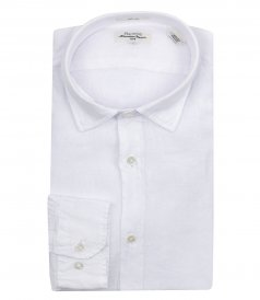 CLOTHES - SAMMY PAT LINEN SLIM FIT SHIRT