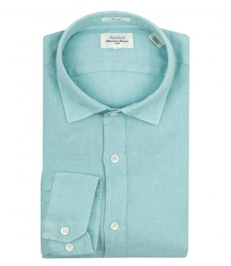 HARTFORD - SAMMY PAT LINEN SLIM FIT SHIRT