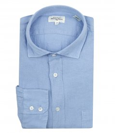 JUST IN - LINEN PAUL PAT REGULAR SHIRT