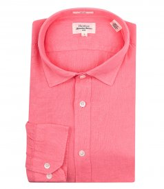JUST IN - SAMMY PAT LINEN SLIM FIT SHIRT