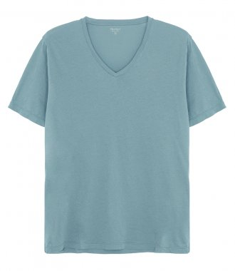 LIGHT JERSEY V-NECK T-SHIRT