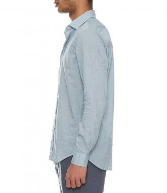 WASHED COTTON SAMMY SLIM-FIT SHIRT