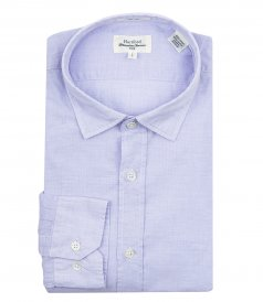JUST IN - WASHED COTTON SAMMY SLIM-FIT SHIRT